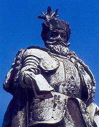 Король Матьяш на площади Героев