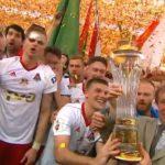 «Локо» празднует победу в чемпионате России