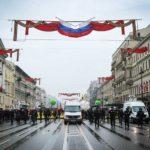 В Петербурге второй раз за неделю задержали оппозиционера, прошедшего с флагом США 1мая