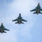 Российские истребители за неделю пять раз поднимались на перехват