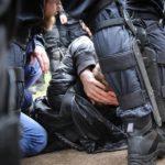 Стало известно о задержаниях после митинга против пенсионной реформы