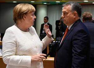 Ангела Меркель и премьер-министр. Канцлер Германии не допустит обязательной квоты